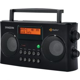 Sangean Am And Fm Hd Portable Radio SNGHDR16