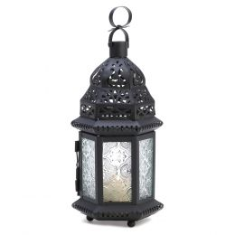 Winter Fire Candle Lantern 10014118