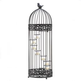 Birdcage Staircase Candle Stand 10001232