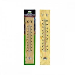 Wooden Garden Thermometer OL417