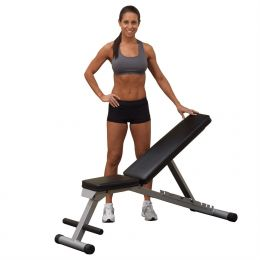Multi-position Weight Training Flat Incline Decline Folding Exercise Bench