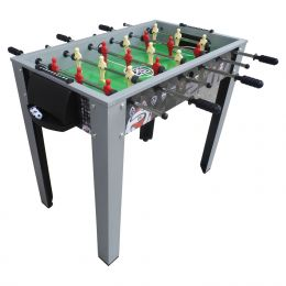Soccer-Themed 40-inch Foosball Table with Manual Scoring