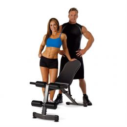 Four Position Incline Decline Flat Vertical Wight Exercise Utility Bench