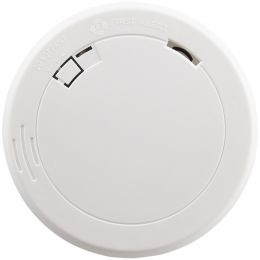 First Alert Slim Photoelectric Smoke Alarm With 10-year Battery